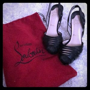 AUTHENTIC  ❤️ Christian Louboutin size 6.5/7